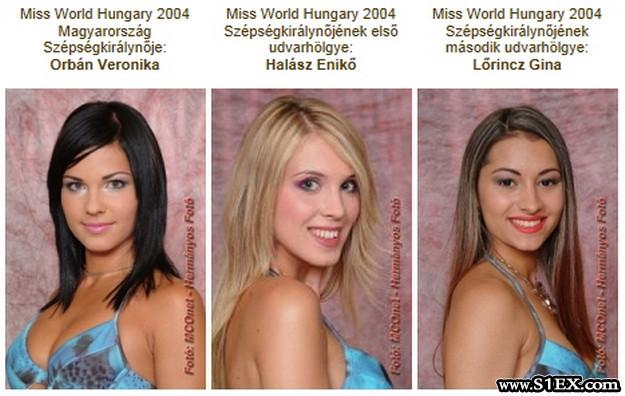 Miss World Hungary 2004