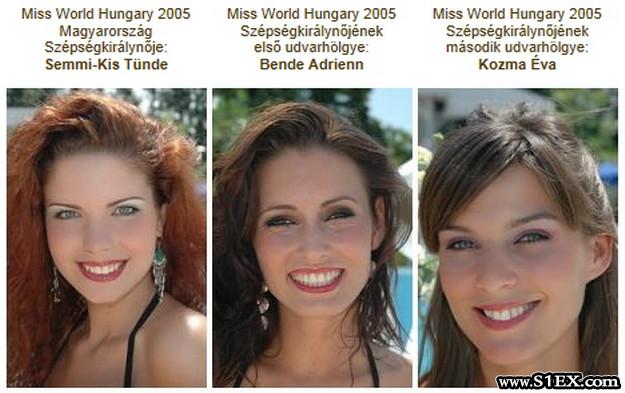 A Miss World Hungary 2005