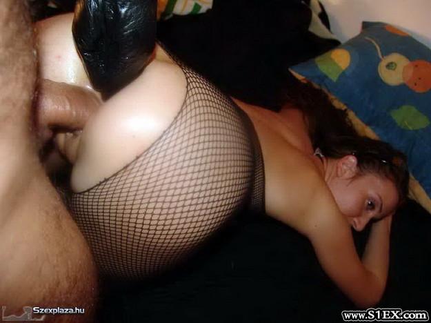 Miszlai Barbara szexshop vásárlásából extrém baszás