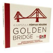 Potencianövelő kapszula férfiaknak, Golden Bridge 4db