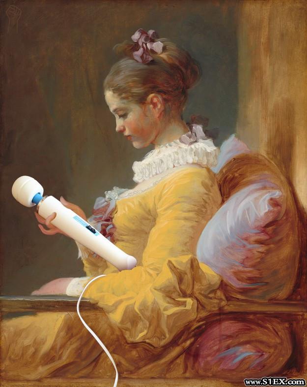 vibrator-Jean-Honore Fragonard