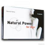 Natural Power For Men potencianövelő kapszula, 6 db