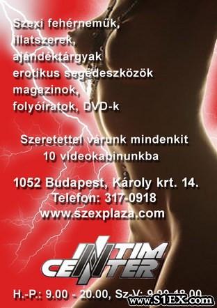 Intim Center Szexshop Budapest szexhírek