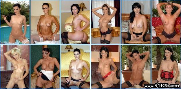 Pornós lányok a Szexplázában - 2013